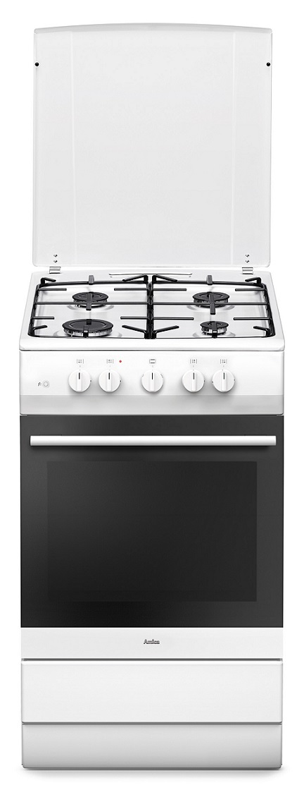 Amica SHGG 11560 W Propan Gasherd mit Gasbackofen/ Energieeffizienzklasse A