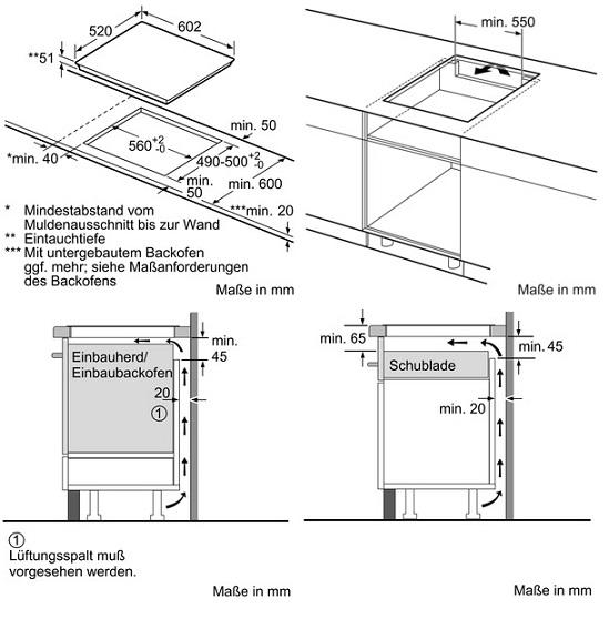 siemens ex675lxe3e flex induktionskochfeld iq 700. Black Bedroom Furniture Sets. Home Design Ideas