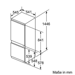 siemens ki67vvf30 einbau k hl gefrierkombination iq300 energieeffizienzklasse a. Black Bedroom Furniture Sets. Home Design Ideas