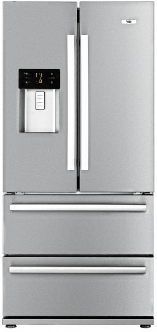 Beko GNE 60530 DX Kühl-Gefrierkombination French Door/ Energieeffizienzklasse A++