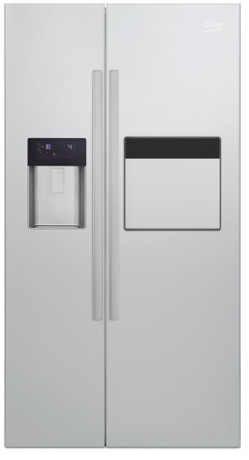 Beko GN 162431 ZX Side-by-Side Kühl-Gefrierkombination/ Energieeffizienzklasse A++