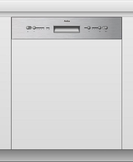 Amica EGSP 14697 E Einbau-Geschirrspüler/ Energieeffizienzklasse A+