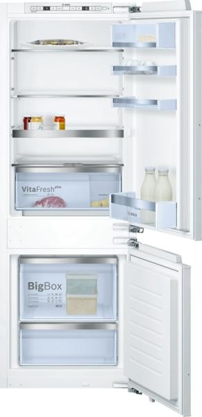 bosch kis77af30 einbau k hl gefrierkombination energieeffizienzklasse a. Black Bedroom Furniture Sets. Home Design Ideas