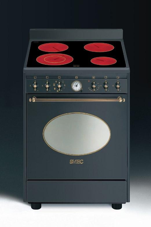 smeg co68cma8 elektrostandherd aktionsangebot energieeffizienzklasse a. Black Bedroom Furniture Sets. Home Design Ideas