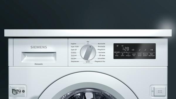 Siemens wi w einbau waschmaschine energieeffizienzklasse