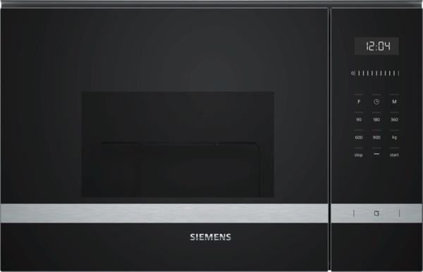 Siemens BE555LMS0 Einbau-Mikrowelle mit Grill, Edelstahl/schwarz