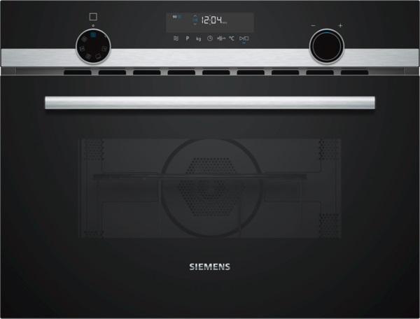 Siemens CM585AMS0 Kompakt-Einbaubackofen mit Mikrowelle