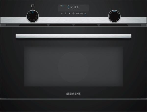 Siemens CO565AGS0 Einbau-Mikrowelle mit Dampfgarfunktion