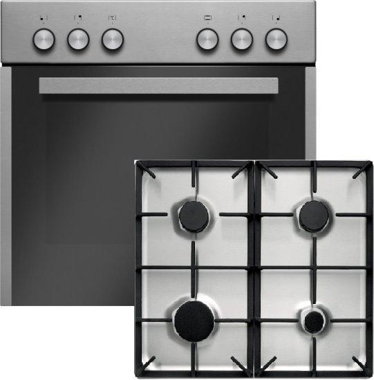 Amica EHEG933100-1E Gas-Elektro-Einbauherd Set / Energieeffizienzklasse A