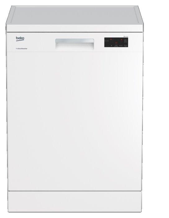 Beko DFN16430W Stand-Geschirrspüler/ Energieeffizienzklasse A+++
