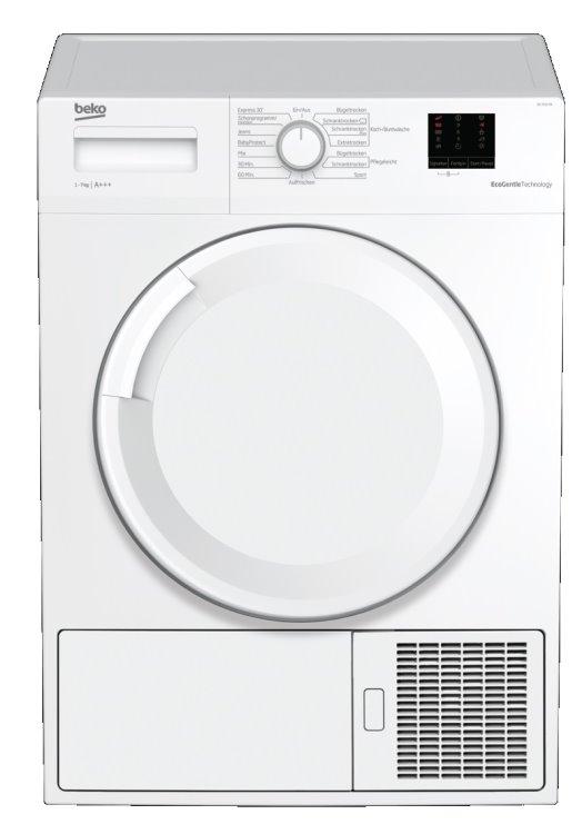 Beko DS7511PA Kondenstrockner mit Wärmepumpentechnologie/ Energieeffizienzklasse A+++
