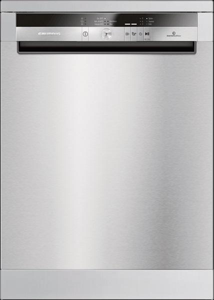 Grundig GNF41835X Stand-Geschirrspüler/ Energieeffizienzklasse A+++