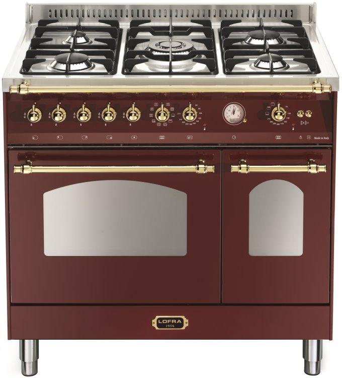 LOFRA RRD96MFTE/CI DOLCEVITA Range Cooker Gasherd mit Elektrobackofen/ Energieeffizienzklasse A/A