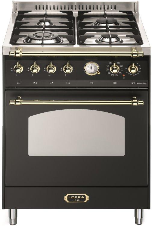 LOFRA RNM66MFT/CI DOLCEVITA Range Cooker Gasherd mit Elektrobackofen/ Energieeffizienzklasse A
