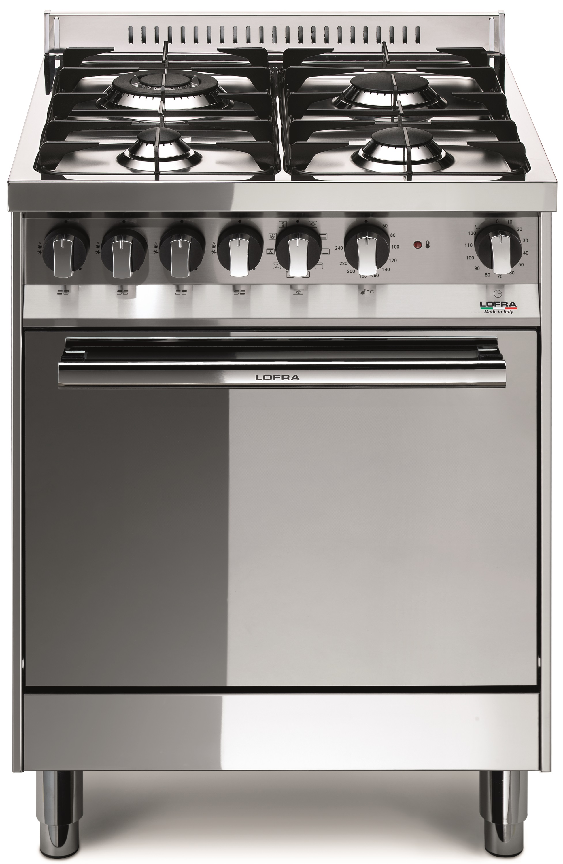 LOFRA M66MF/C MAXIMA Range Cooker Gasherd mit Elektrobackofen/ Energieeffizienzklasse A