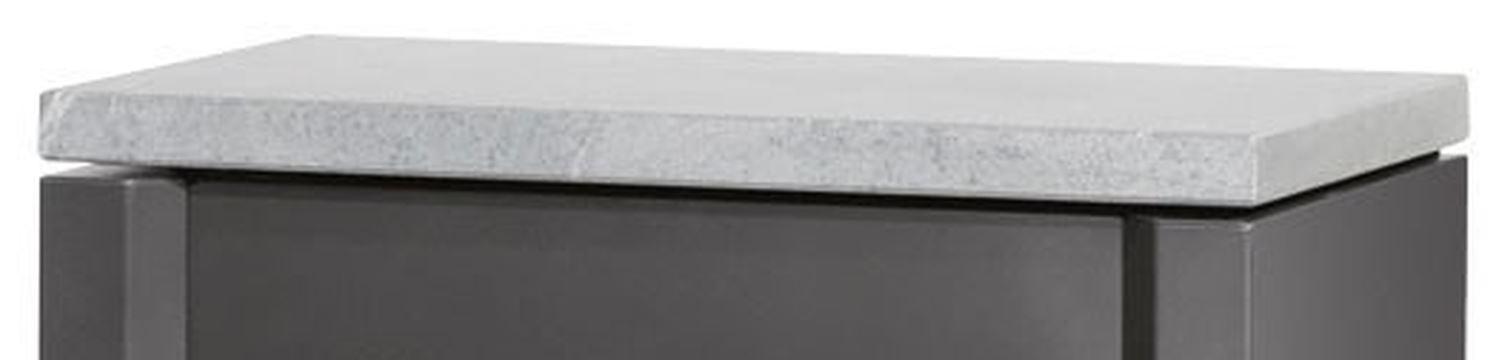 Oranier Abdeckplatte Speckstein rechteckig