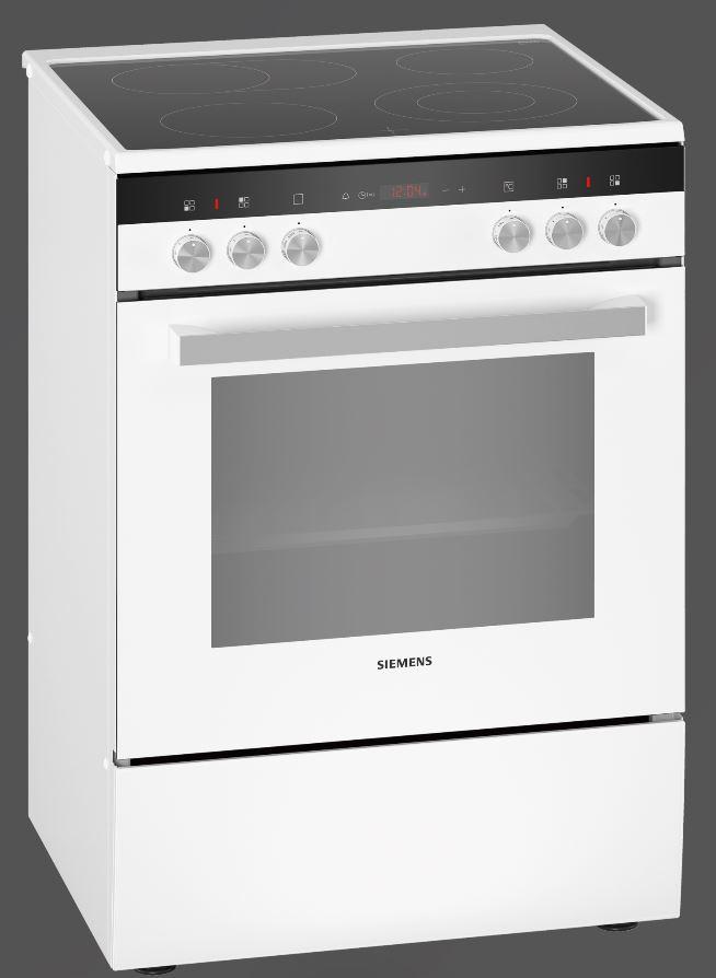 Siemens HK9R3A220 Elektro-Standherd/ Energieeffizienzklasse A