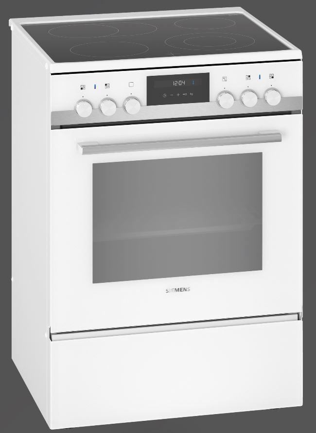 Siemens HK9S5A220 iQ500 Elektro-Standherd mit Glaskeramikkochfeld/ Energieeffizienzklasse A