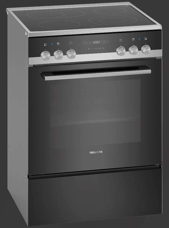 Siemens HK9S5A240 iQ500 Elektro-Standherd mit Glaskeramikkochfeld/ Energieeffizienzklasse A