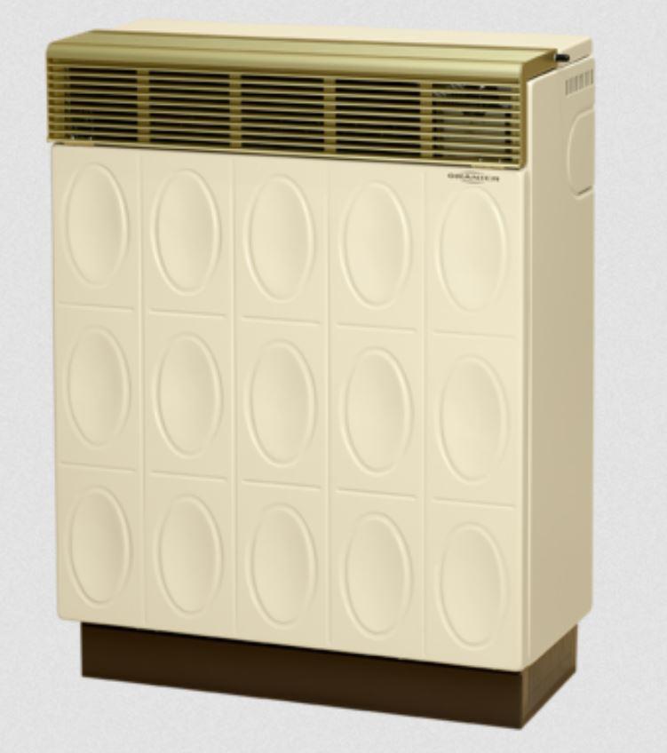 Oranier Palma Relief 8941-60 Gasraumheizer, Beige/Beige 896055
