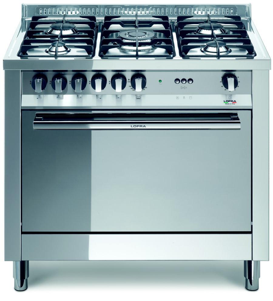 LOFRA MG96GV/C MAXIMA Range Cooker Gasherd mit Umluft-Gasbackofen/ Energieeffizienzklasse A