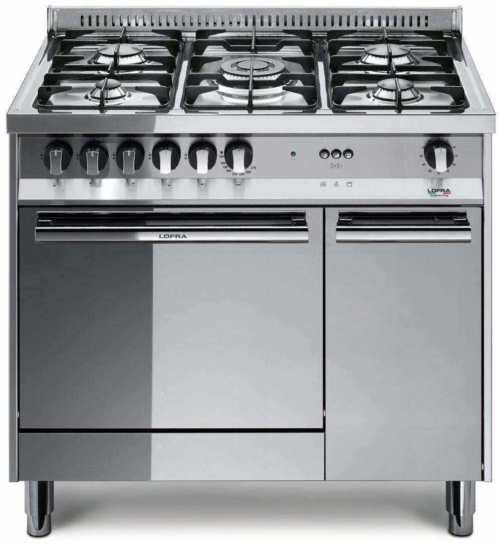 LOFRA MT96GV/C MAXIMA Range Cooker Gasherd mit Umluft-Gasbackofen/ Energieeffizienzklasse A