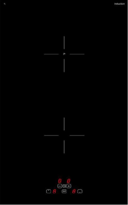 XOLID XEKI503050/2-5 0450111 Domino-Induktionskochfeld