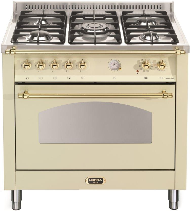 LOFRA RBIG96MFT/CI DOLCEVITA Range Cooker Gasherd mit Elektrobackofen/ Energieeffizienzklasse A
