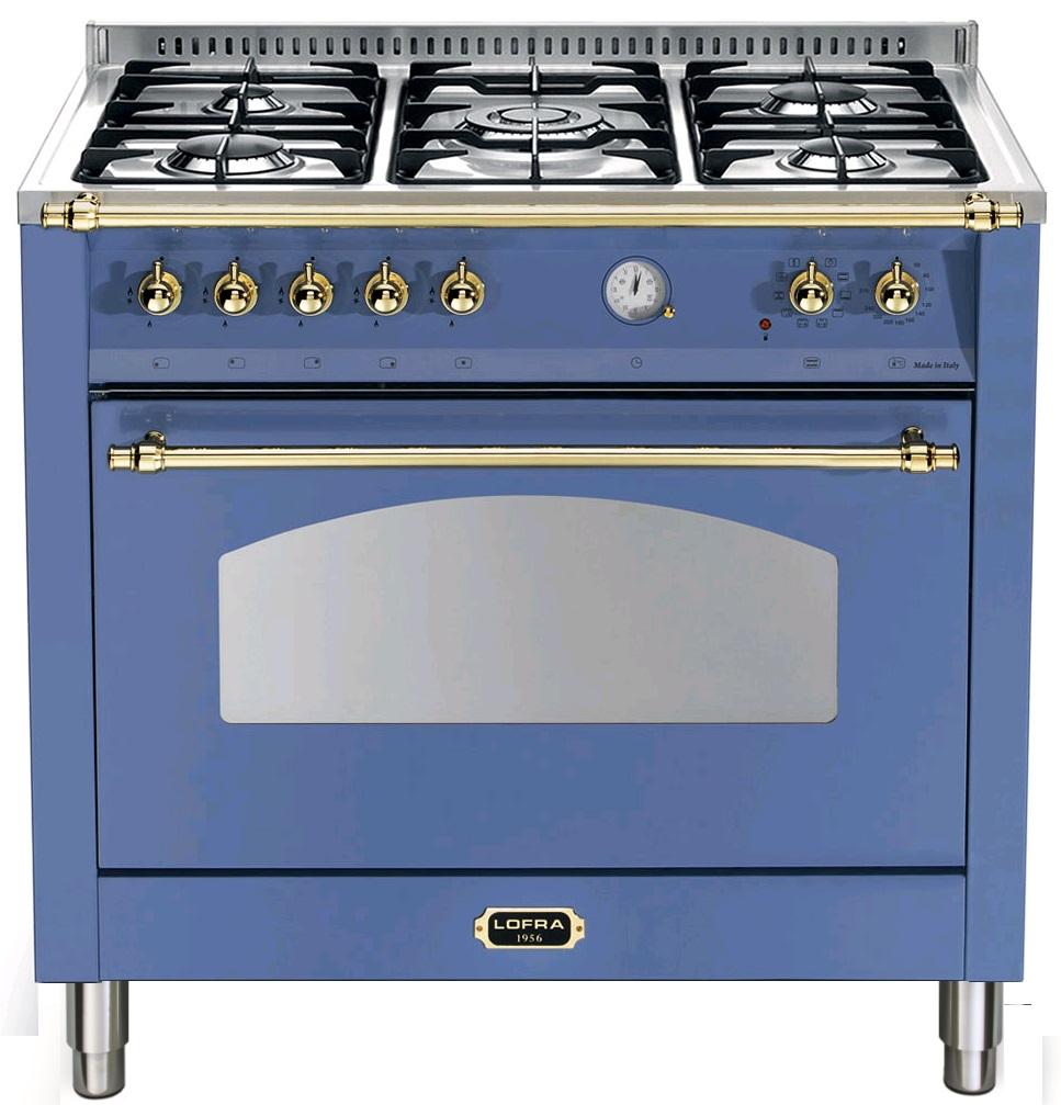 LOFRA RLVG96MFT/CI DOLCEVITA Range Cooker Gasherd mit Elektrobackofen/ Energieeffizienzklasse A
