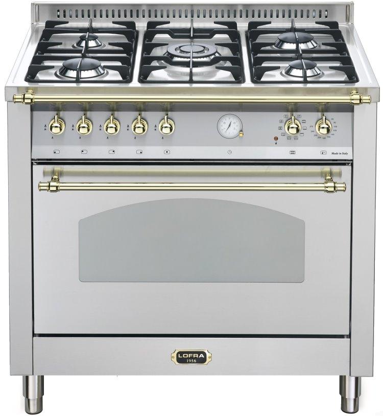 LOFRA RSG96MFT/CI DOLCEVITA Range Cooker Gasherd mit Elektrobackofen/ Energieeffizienzklasse A