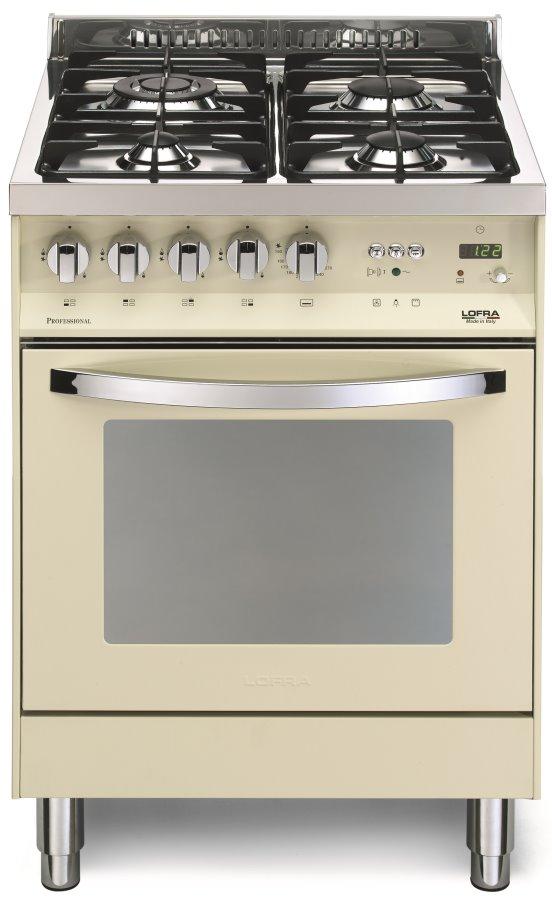 LOFRA PBI66GVT/C RAINBOW LINE Range Cooker Gasherd mit Gasbackofen/ Energieeffizienzklasse A