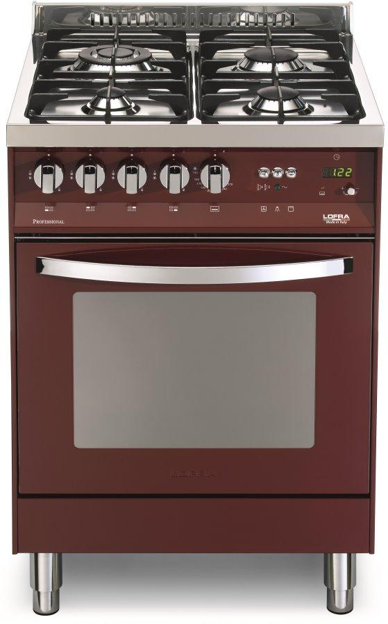 LOFRA PR66GVT/C RAINBOW LINE Range Cooker Gasherd mit Gasbackofen/ Energieeffizienzklasse A