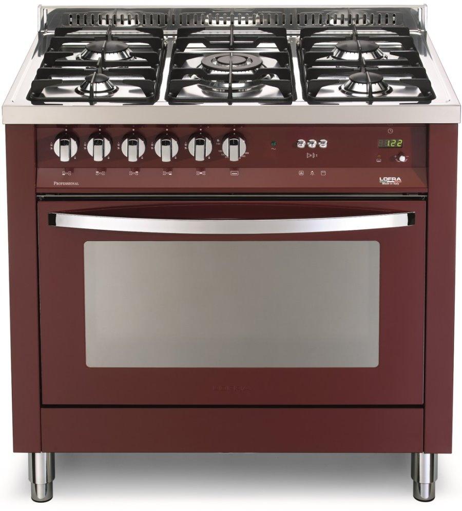 LOFRA PRG96GVT/C Rainbow Line Range Cooker Gasherd mit Umluft-Gasbackofen/ Energieeffizienzklasse A