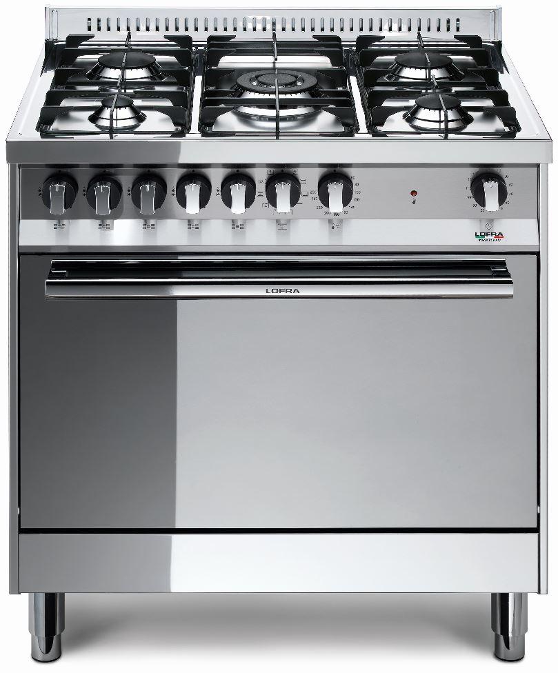 LOFRA MG86GV/C MAXIMA Range Cooker Gasherd mit Umluft-Gasbackofen/ Energieeffizienzklasse A