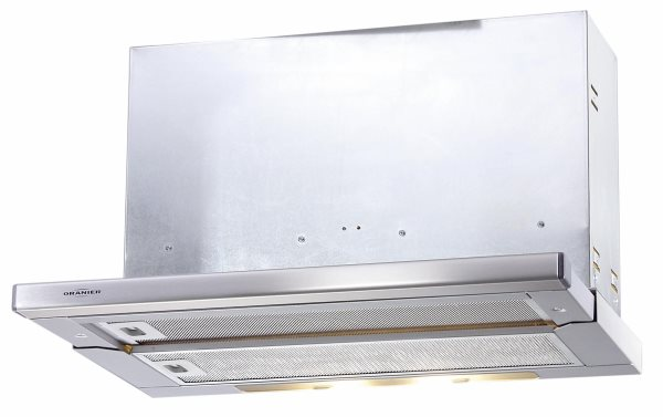 Oranier ECO 3-60 884702 Flachschirmhaube / Schublüfter/ Energieeffizienzklasse D