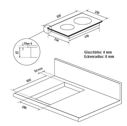 informationsseite h ttich oranier kfi2041tc 204108. Black Bedroom Furniture Sets. Home Design Ideas