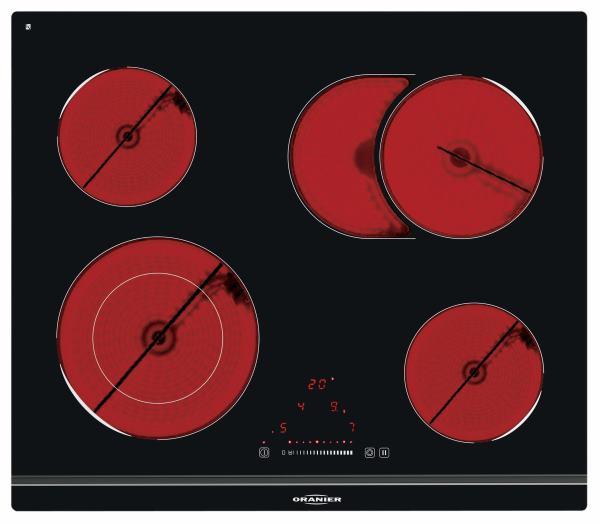 Oranier KFTC9868SL 986808 Glaskeramik-Kochfeld