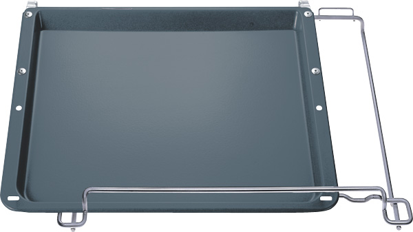 Siemens HZ341672 Backblech emailliert,seitlich ausziehbar
