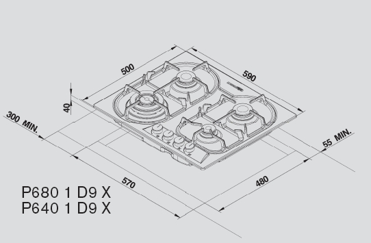informationsseite h ttich lagermania p6401d9x gaskochfeld edelstahl 60 cm. Black Bedroom Furniture Sets. Home Design Ideas