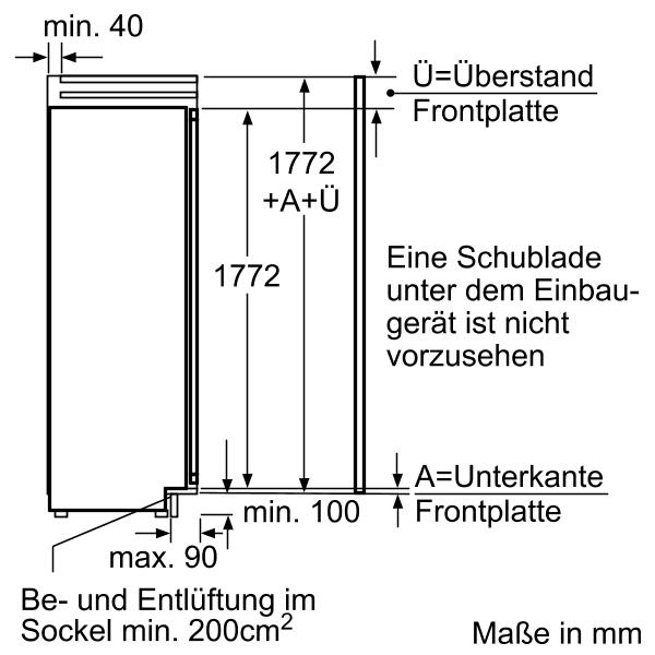 Informationsseite Huttich Siemens Ki40fp60 Einbau Kuhlschrank
