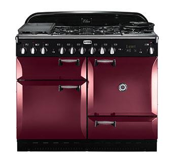 Falcon Elan 110 Range Cooker Gasherd mit Elektrobackofen cranberry/ Energieeffizienzklasse A