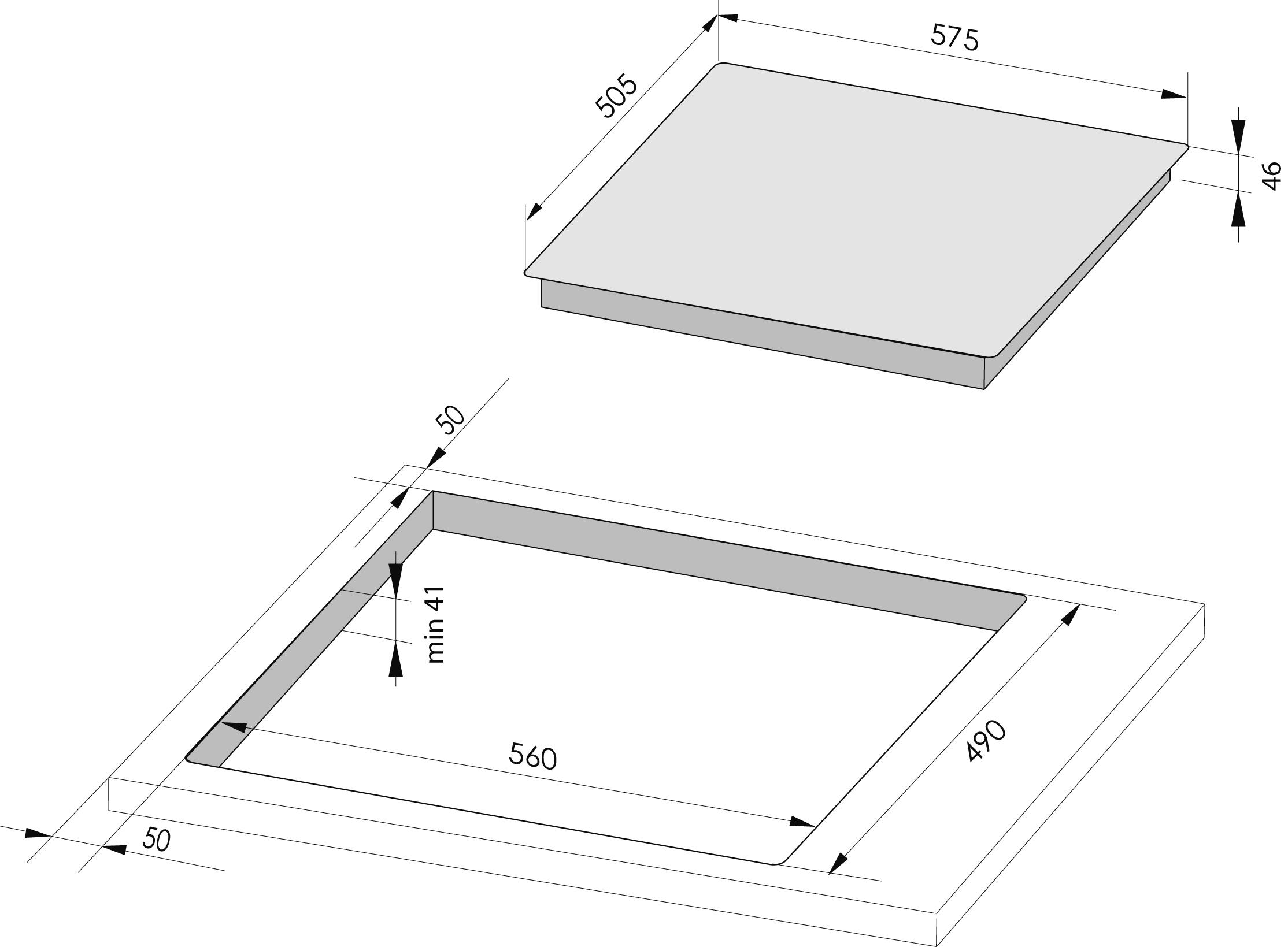 Amica kmc13282e glaskeramik kochfeld for Glaskeramik kochfeld