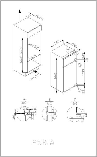 informationsseite h ttich amica ekgc 16166 einbau k hl gefrierkombination. Black Bedroom Furniture Sets. Home Design Ideas