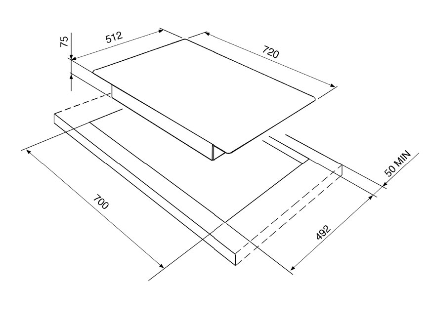 informationsseite h ttich smeg pgf75d 4 gaskochfeld. Black Bedroom Furniture Sets. Home Design Ideas