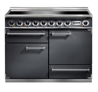 Falcon 1092 Deluxe Range Cooker, Induktionskochfeld, slate/ Energieeffizienzklasse A