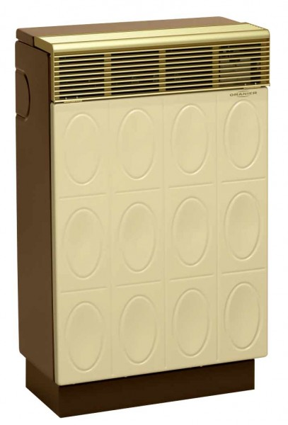 Oranier PalmaRelief 8941-40 Gasheizgerät beige-braun / Raumheizgerät