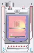 Oranier Dessauer FZ2024 Gasherd -Heiz-Kochherd/ Energieeffizienzklasse B