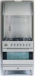 ILVE PL-80-VG Professional Plus Gasherd, Gasbackofen mit Umluft