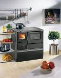 Wamsler K176F/A Schwarz Westminster Landhausherd/Küchenherd, Energieeffizienzklasse A