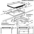 AEG HK8542H0XB Induktions-Kochfeld
